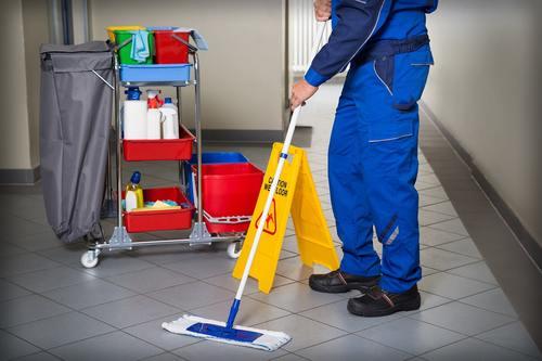 Договор на оказание услуг по уборке служебных помещений