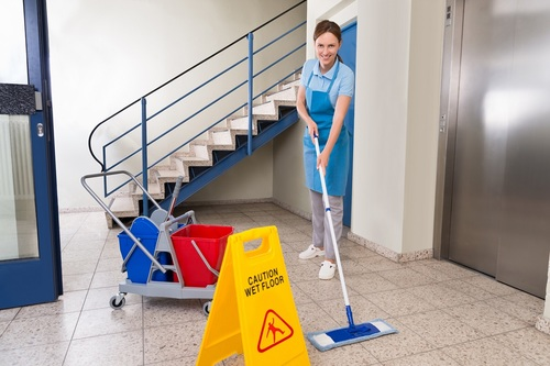 Правила уборки подъезда