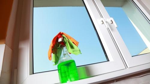 Как помыть окна зимой?