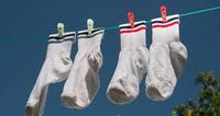 Просто и быстро или эффективные советы о том, как отстирать белые носки