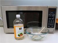 Как очистить микроволновку с помощью соды и уксуса — пошаговая инструкция
