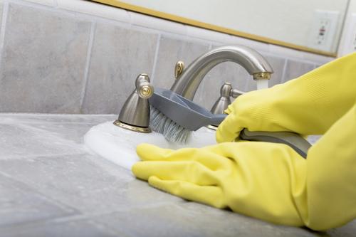 Алгоритм уборки в ванной комнате