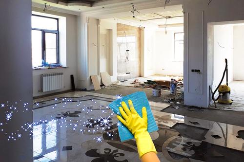 Уборка после ремонта — как навести порядок?