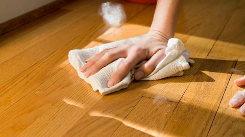 Способы чистки линолеума после проведенного ремонта