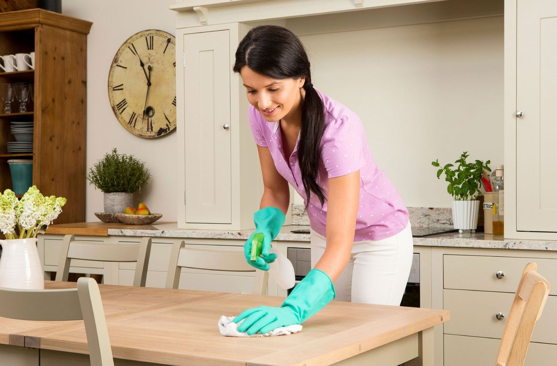 C чего начать генеральную уборку дома