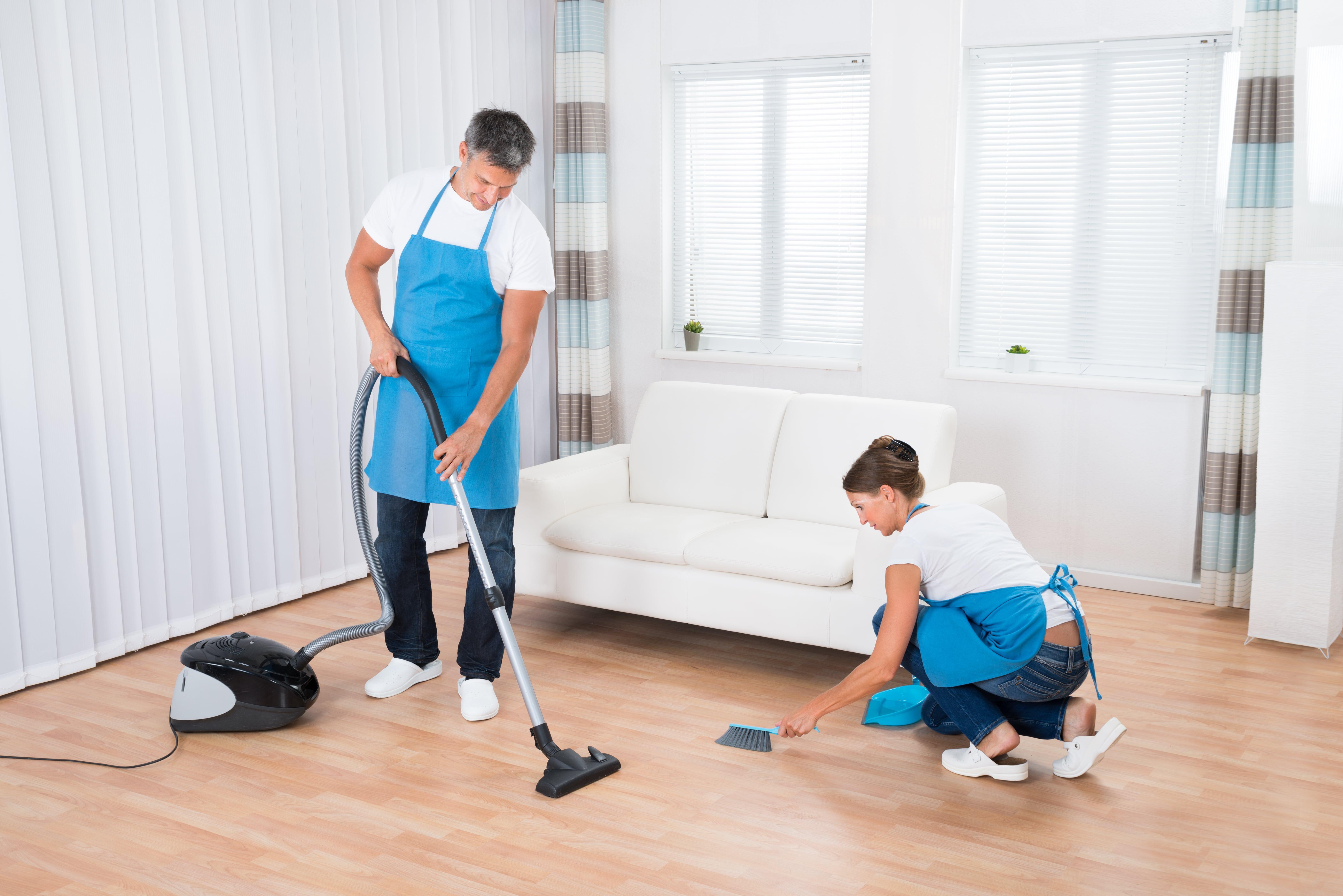 Генеральная уборка в доме