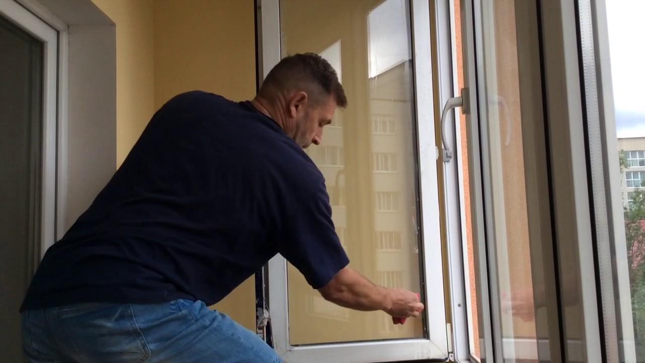 Вымыть окна лоджии