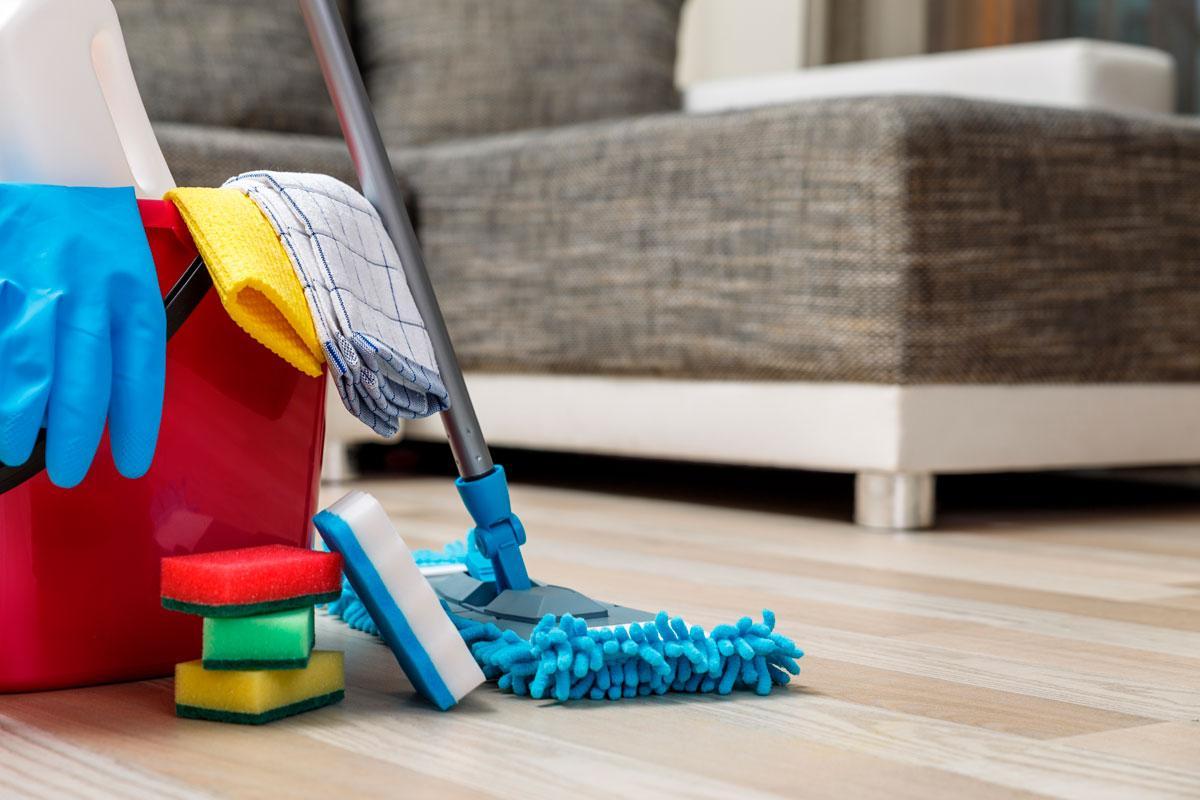 Влажная уборка помещений