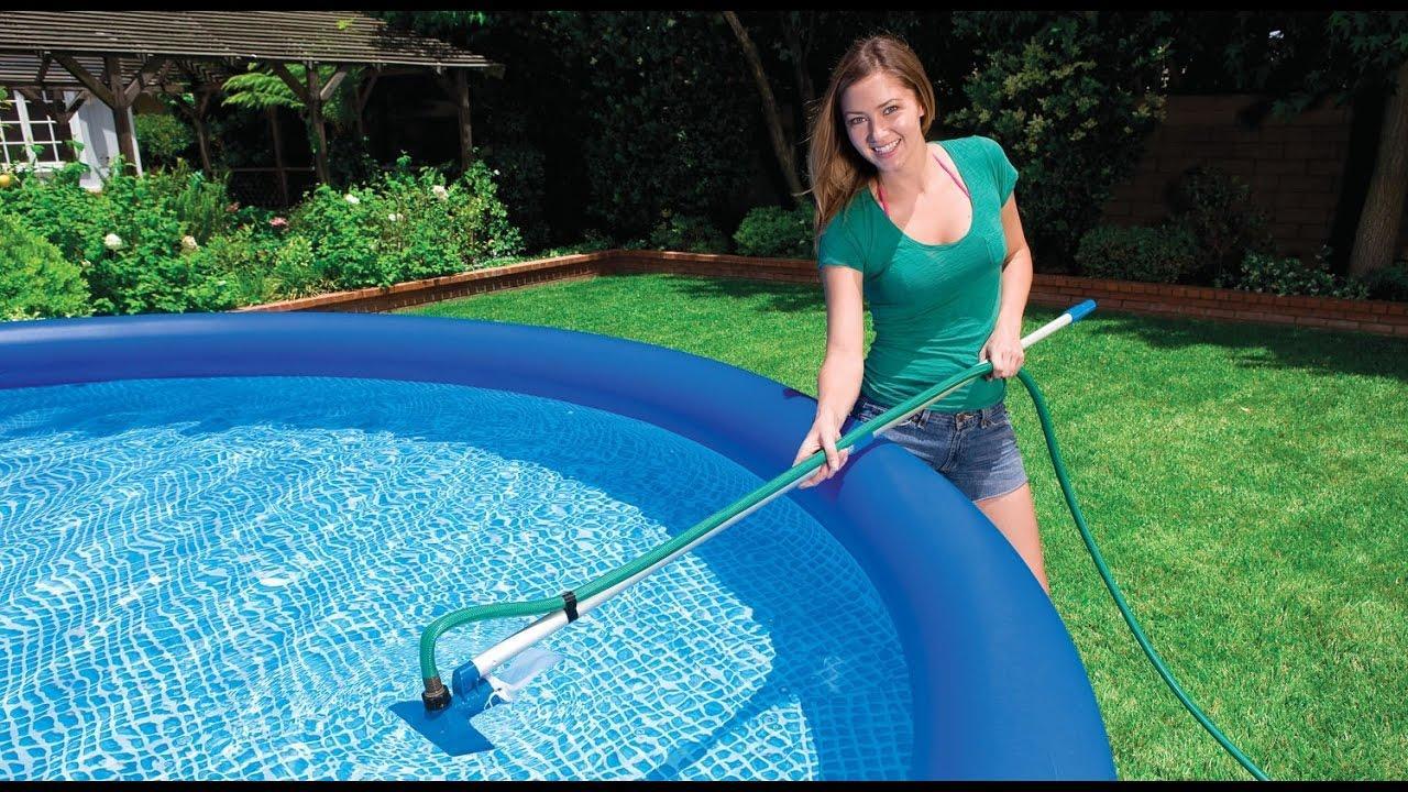 Качественной чистки бассейнов