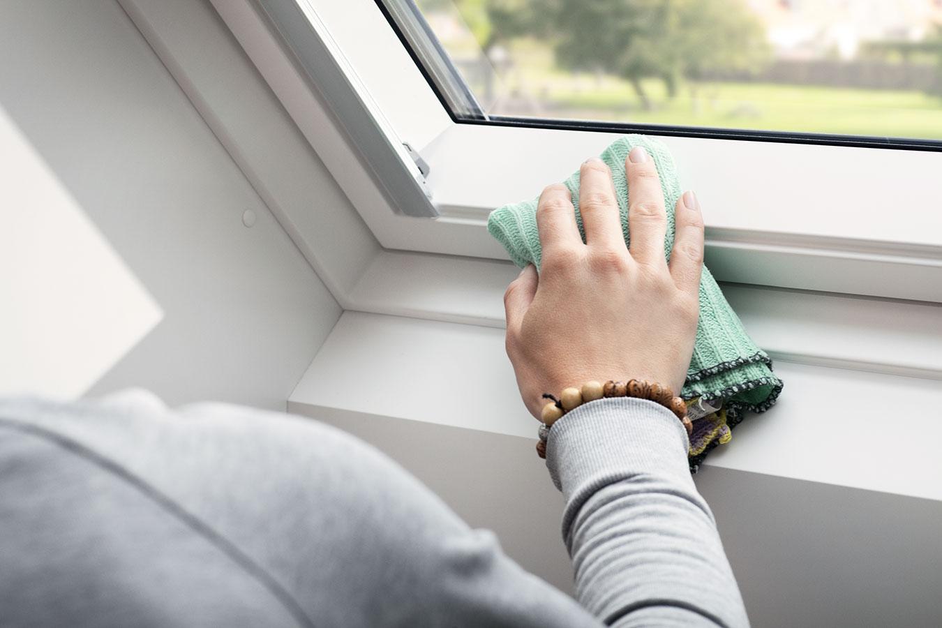 Как почистить пластиковые окна