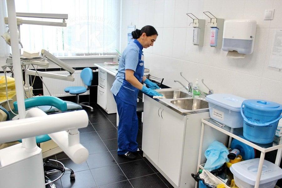 Уборка стоматологического кабинета
