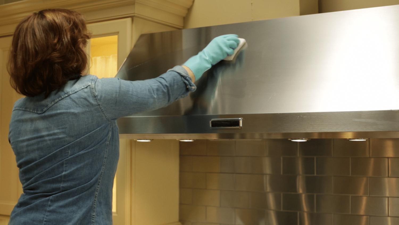 Чистящие средства от жира на кухне