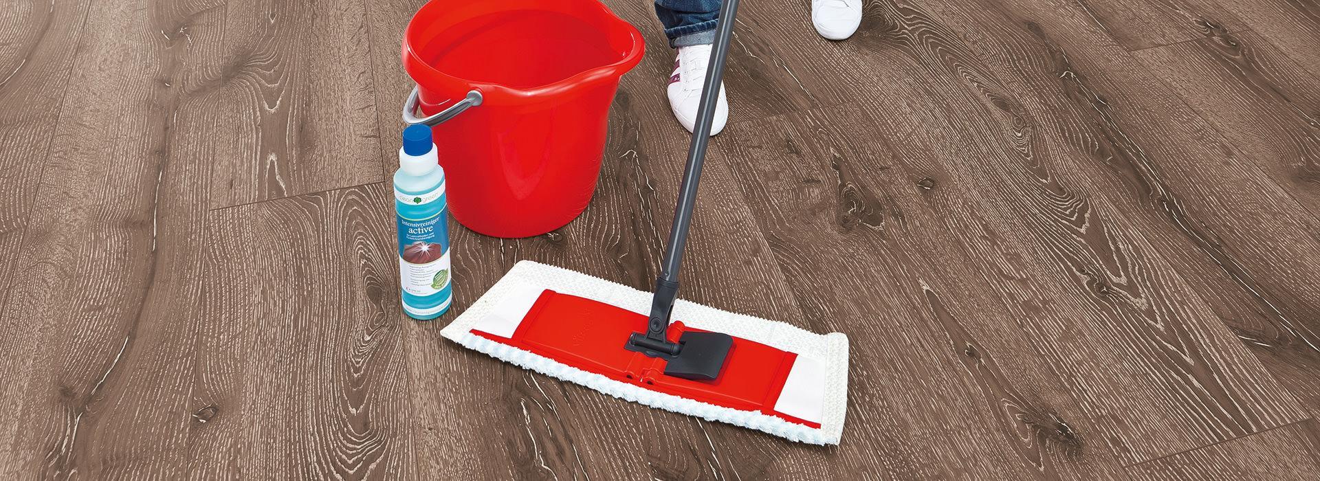 Как мыть ламинатный пол