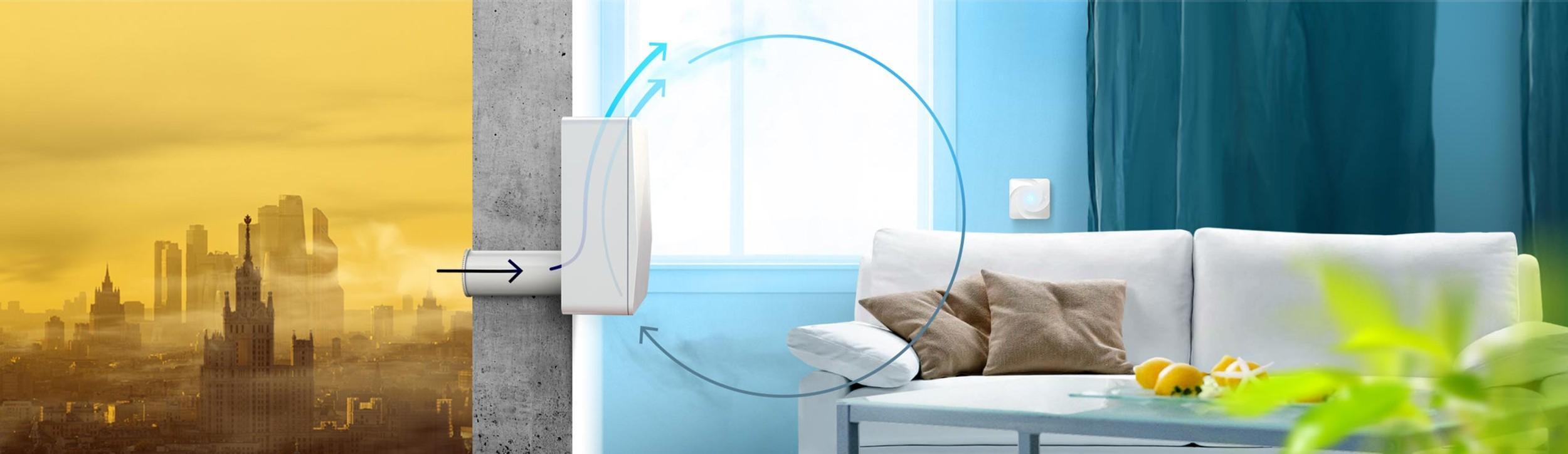 Очищать воздух в комнате