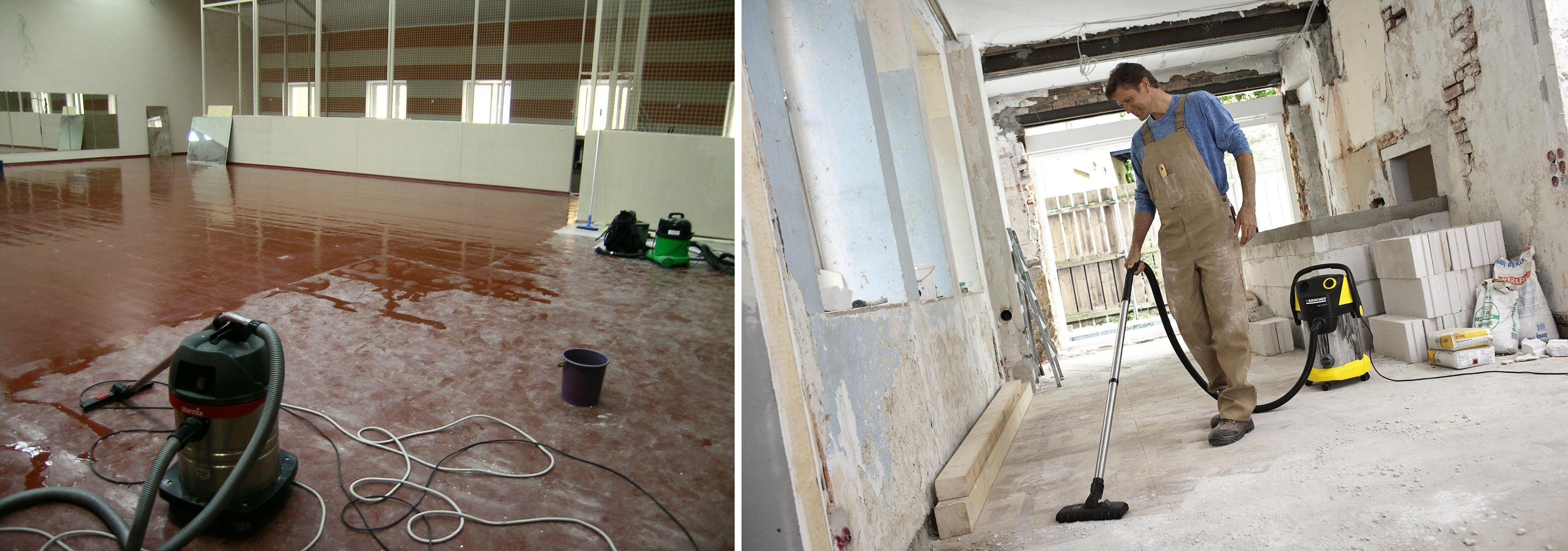 Убрать строительную пыль после ремонта