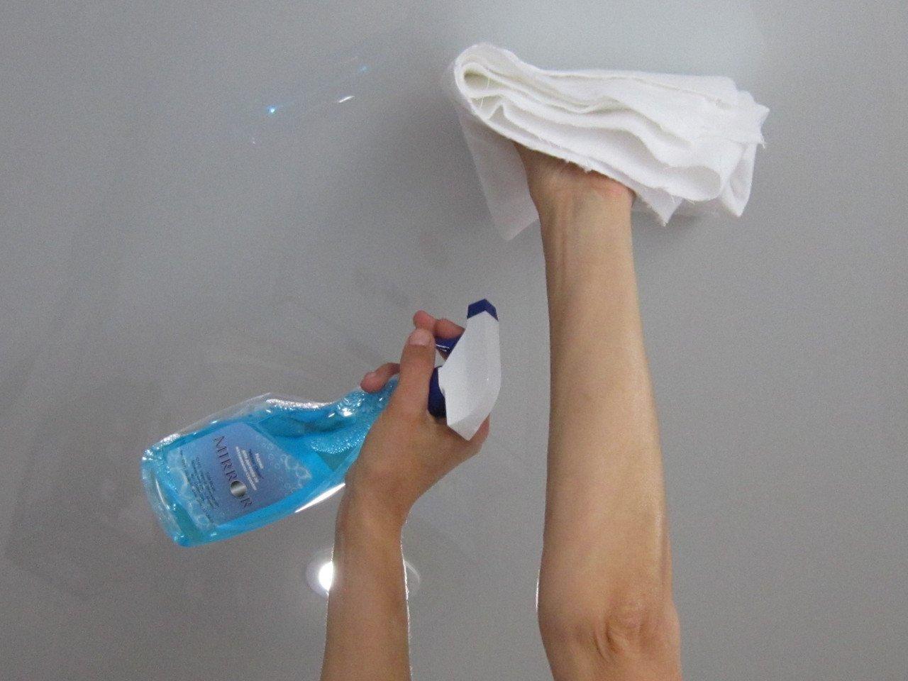 Как помыть пластиковые панели