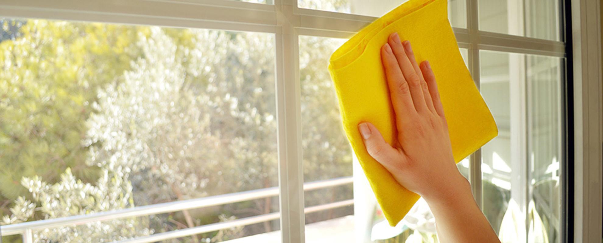 Отмыть с пластиковых окон после ремонта