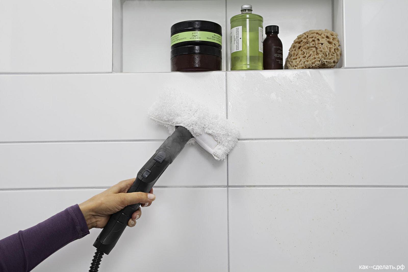 Средства для мытья кафеля на кухне