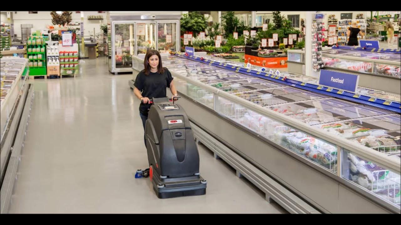 Часто в магазине проводится генеральная уборка