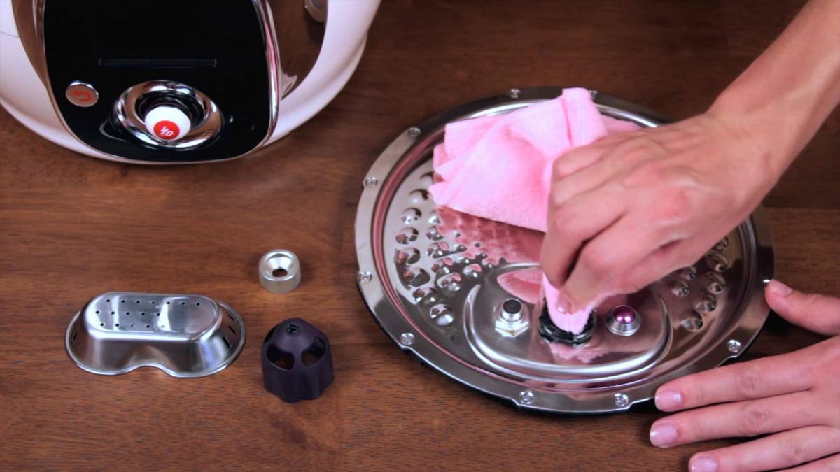 Как мыть мультиварку