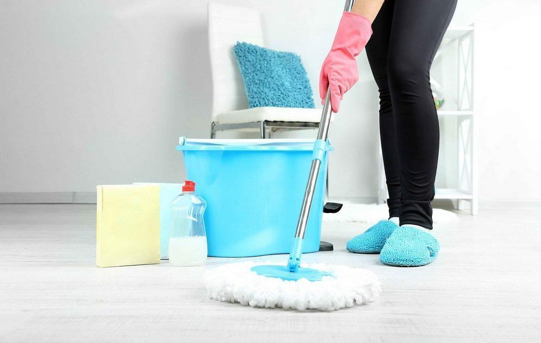 Как помыть полы