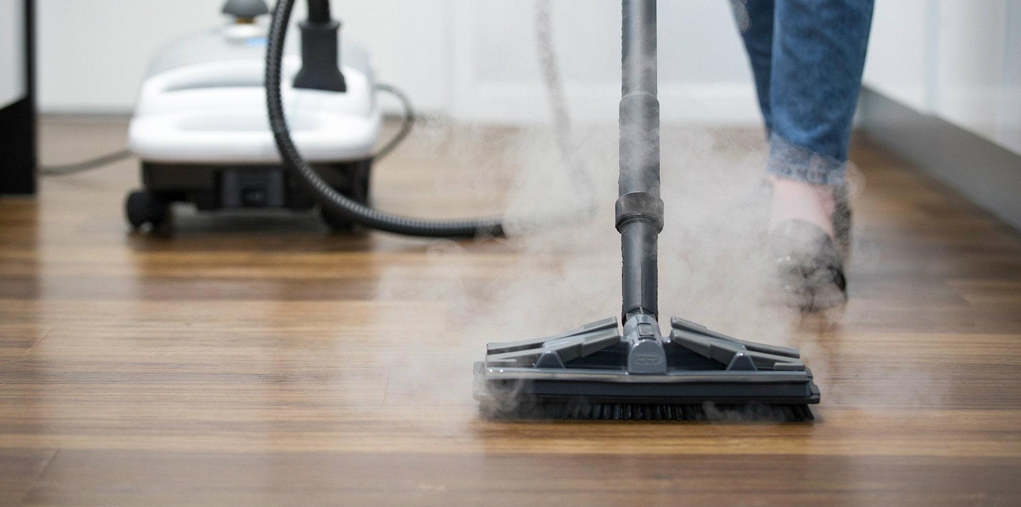 Можно ли пол из ламината пароочистителем чистить