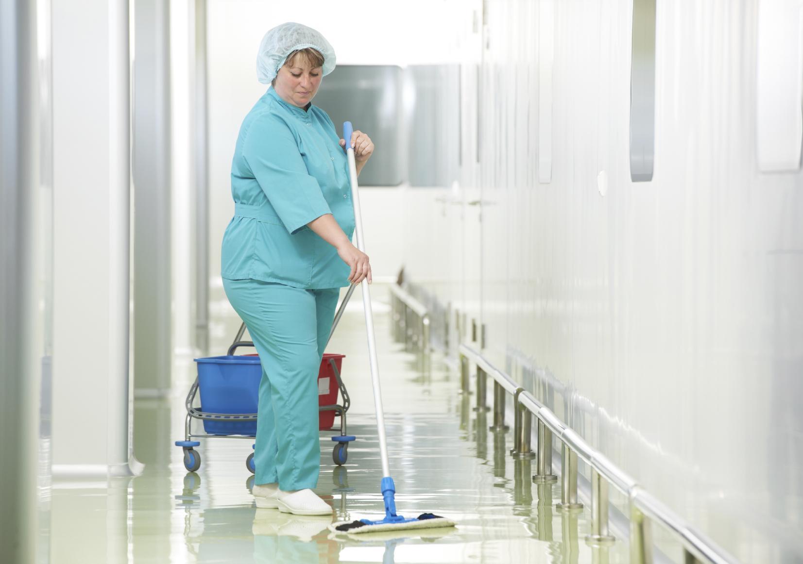 Этапы генеральной уборки процедурного кабинета