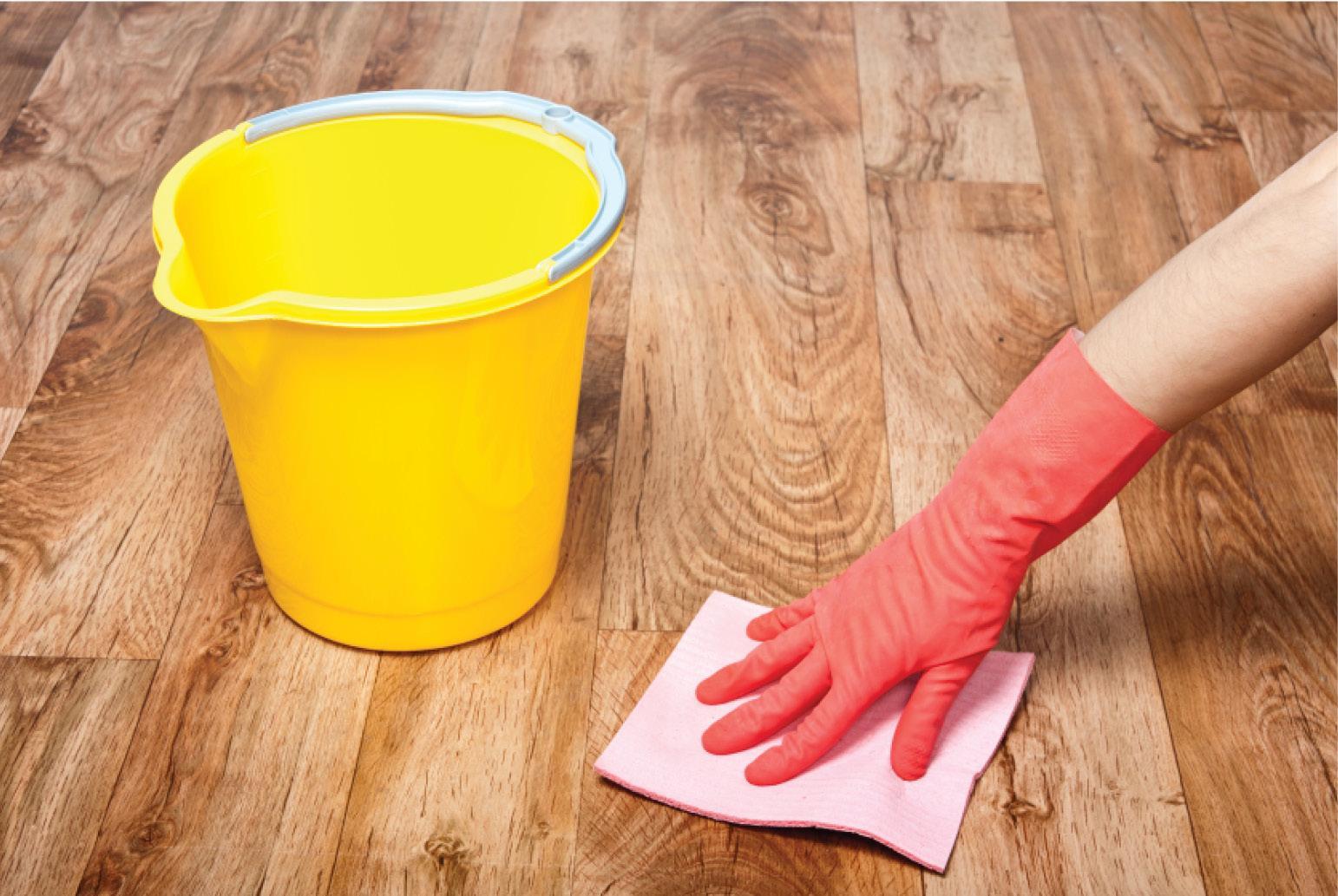 Как отмыть пожелтевший линолеум
