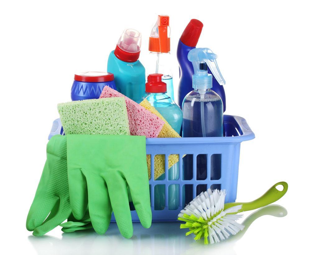 Список, что нужно для уборки дома
