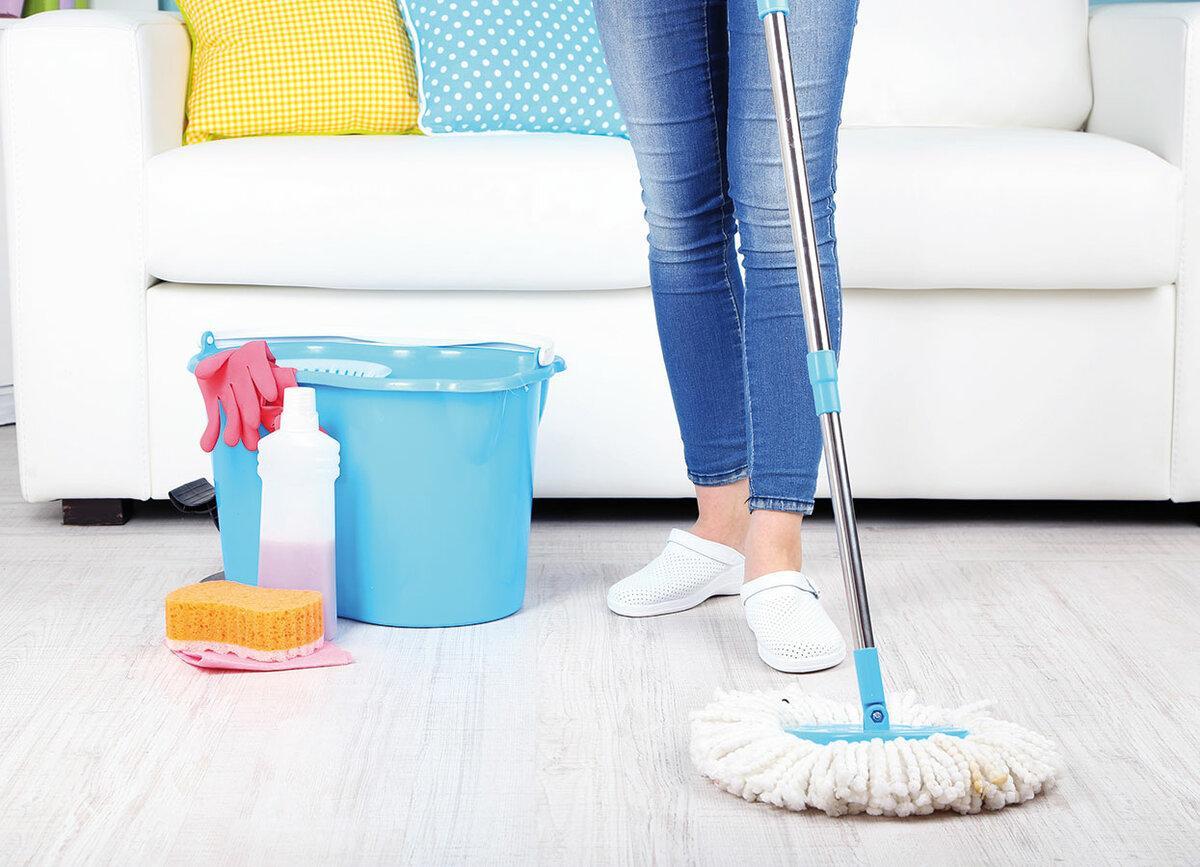 8.Как проводится влажная уборка