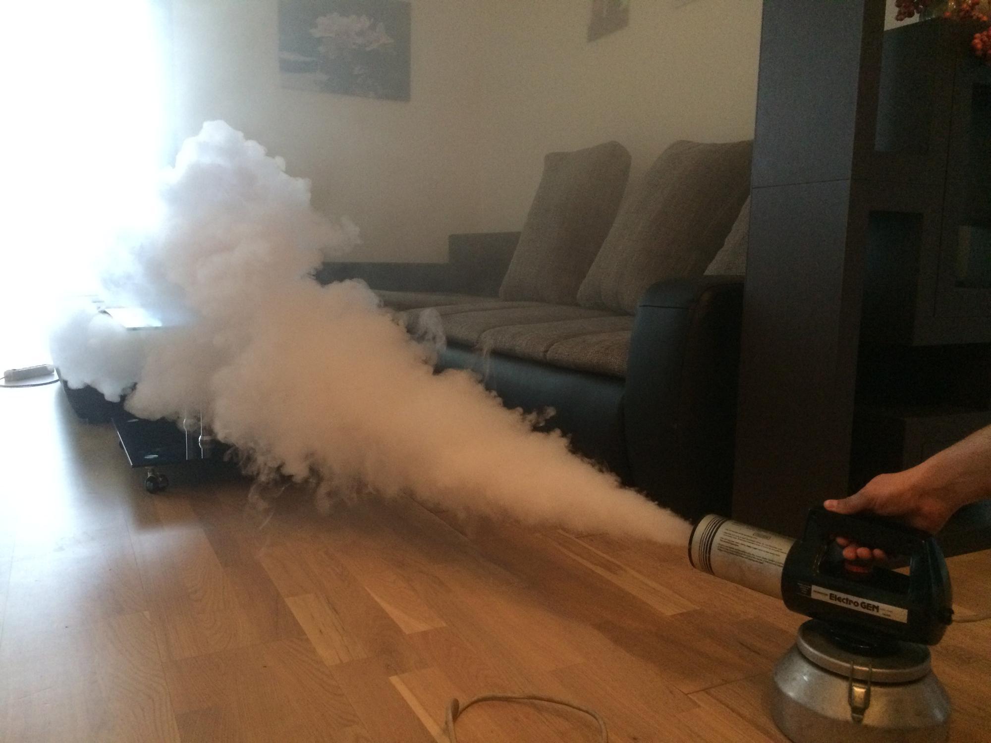 Как убрать запах горелого в квартире