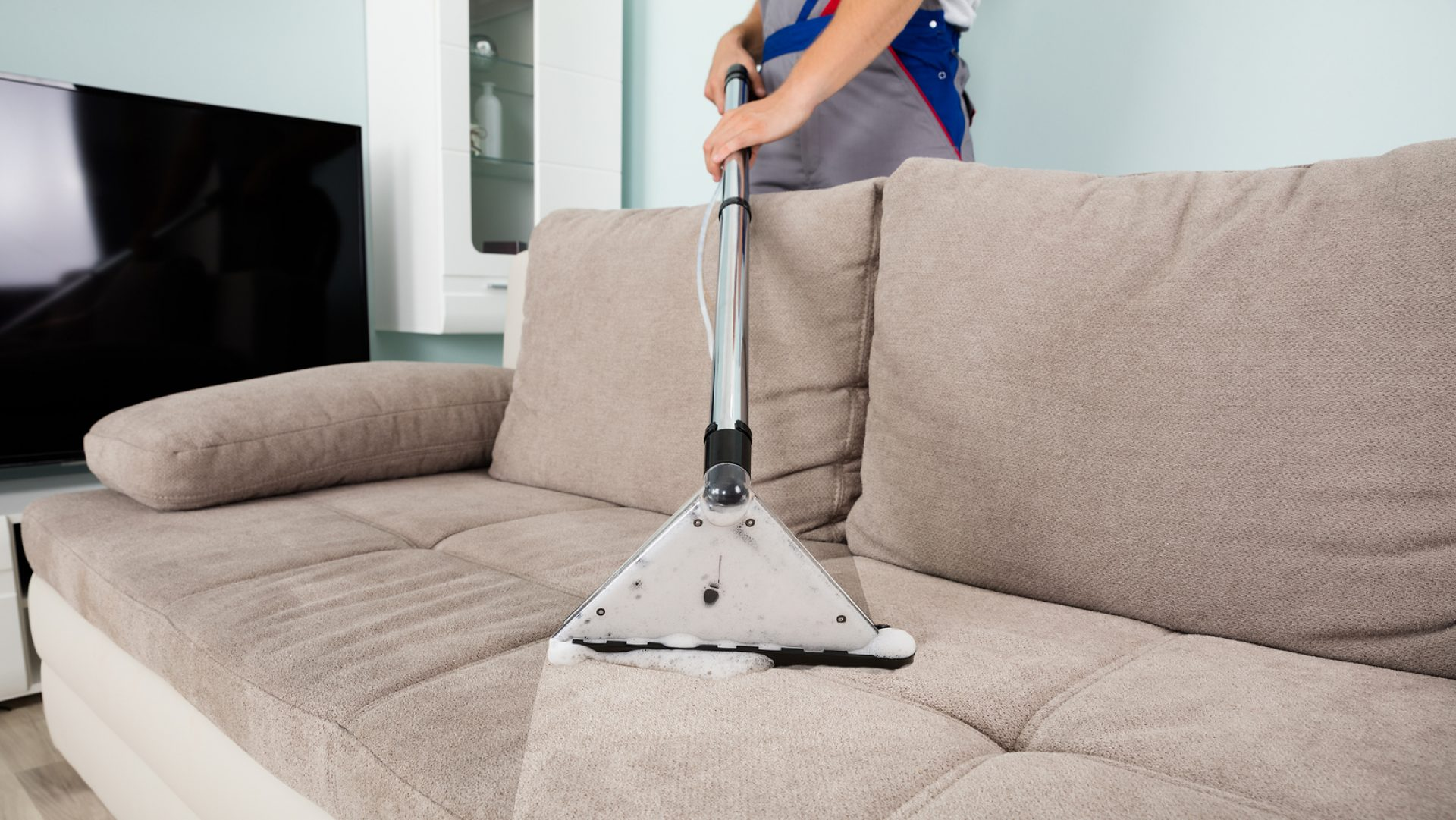 Правильная химчистка дивана