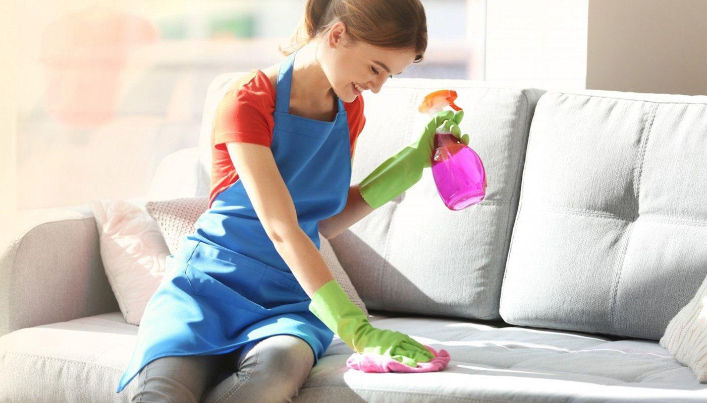 Чистка на дому мягкой мебели