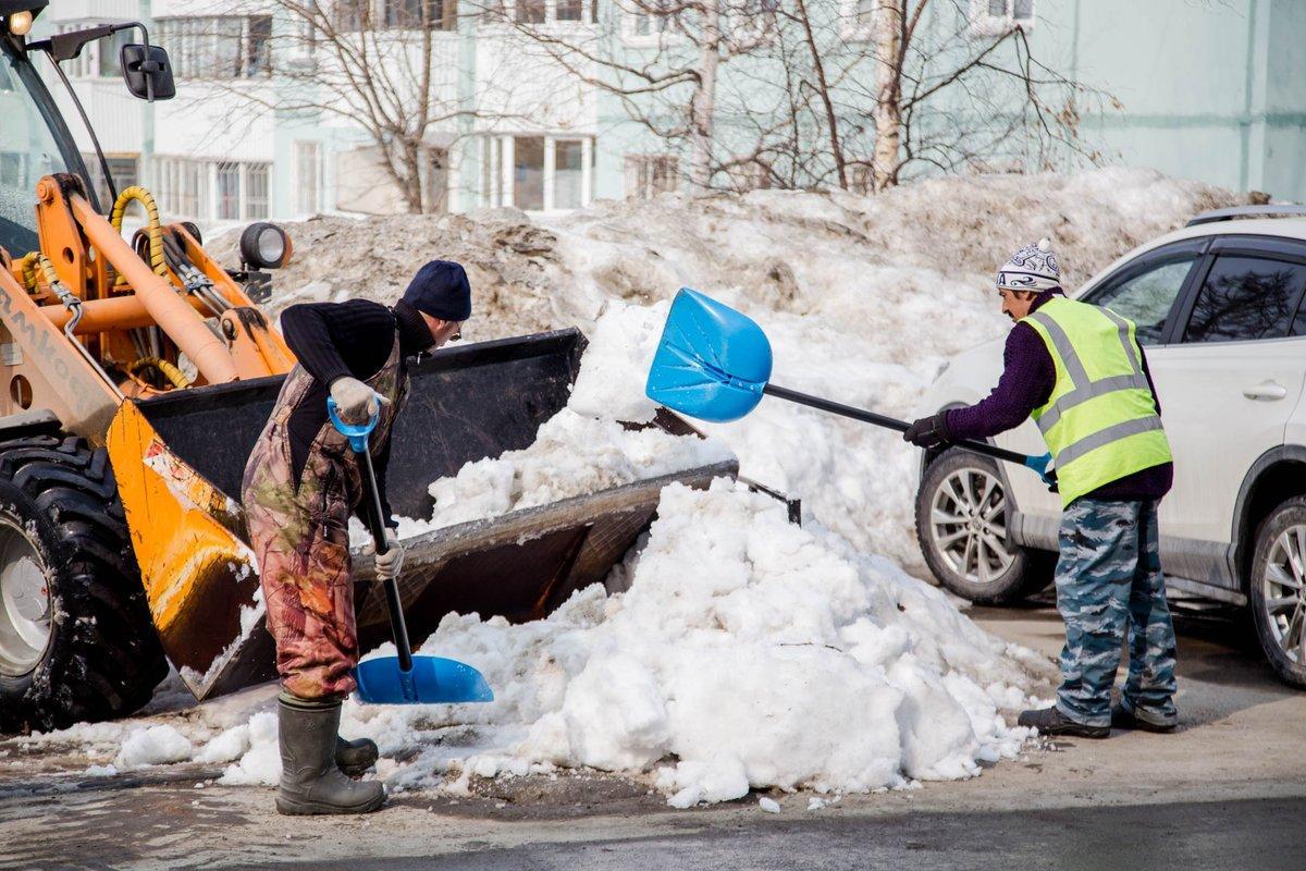 Нормативы уборки прилегающей территории в зимний период