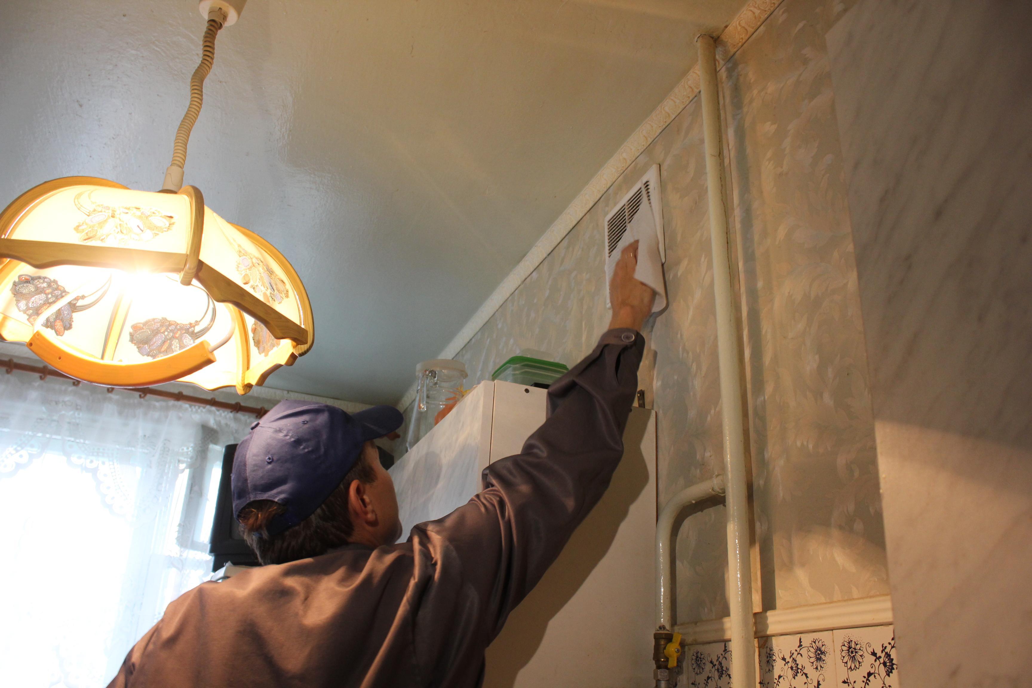 Очистка вентиляции в квартире
