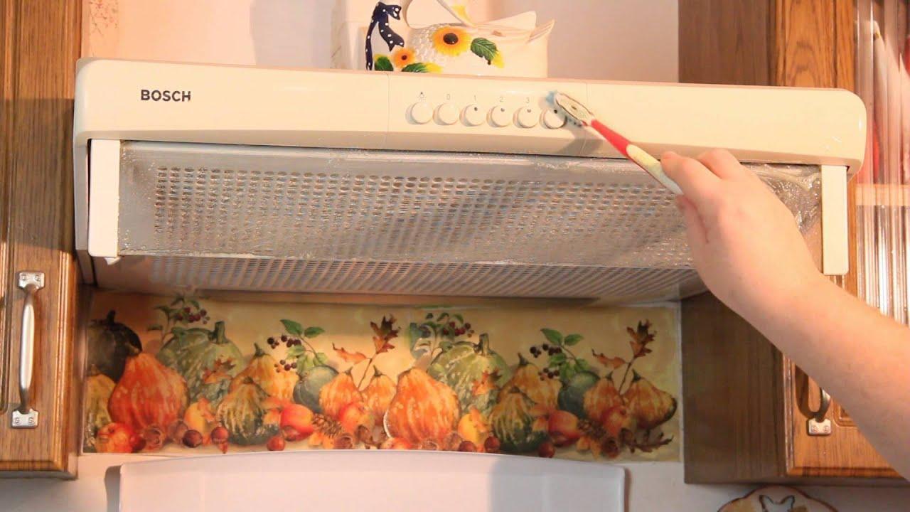 Чем отмыть вытяжку на кухне от жира