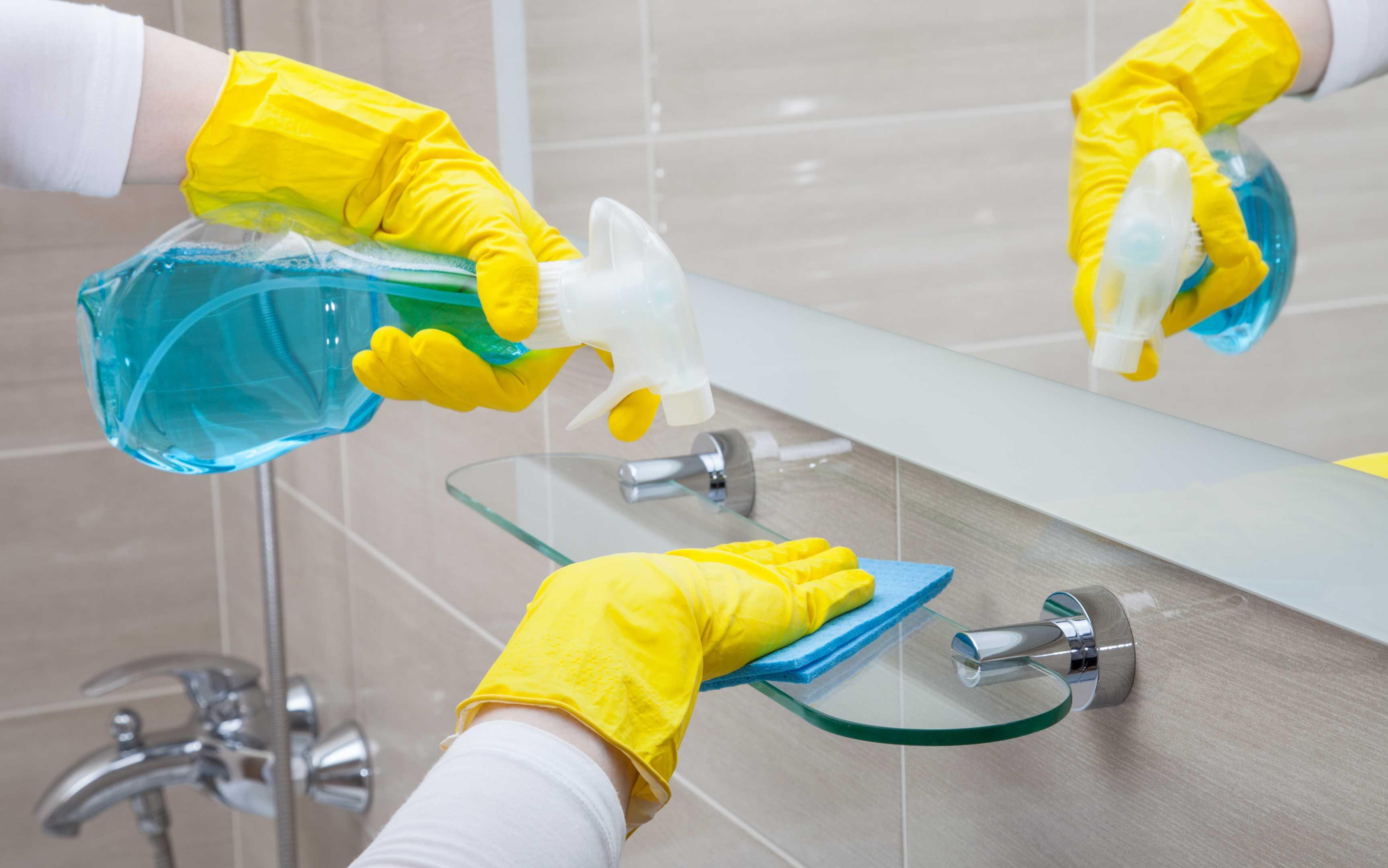 Что убирать в ванной комнате