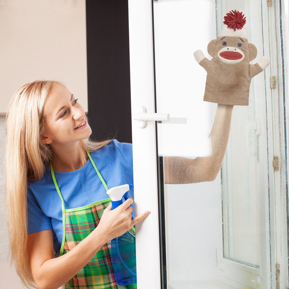 Очистить пластик окон после ремонта