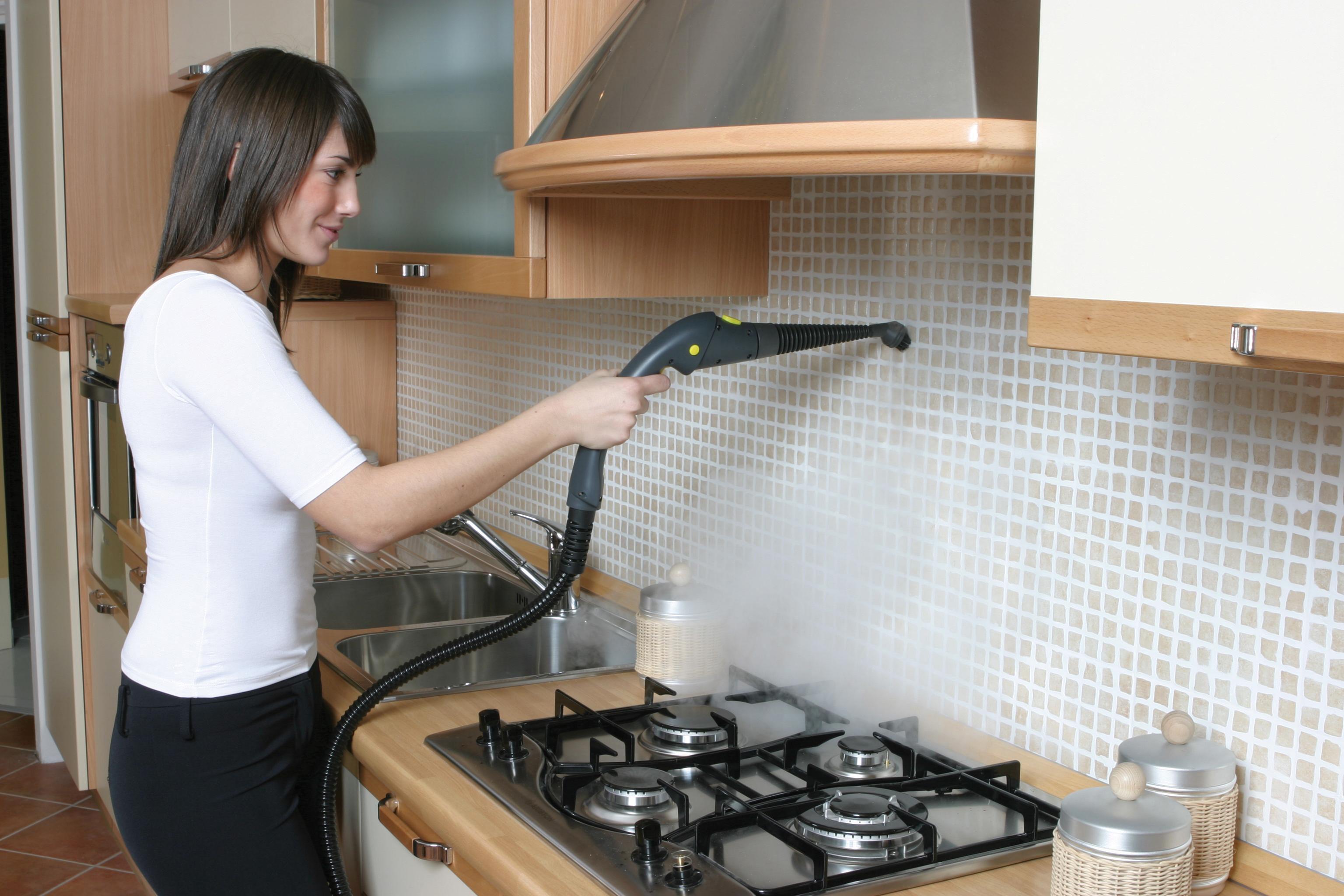 Как отмыть кафель на кухне от жира