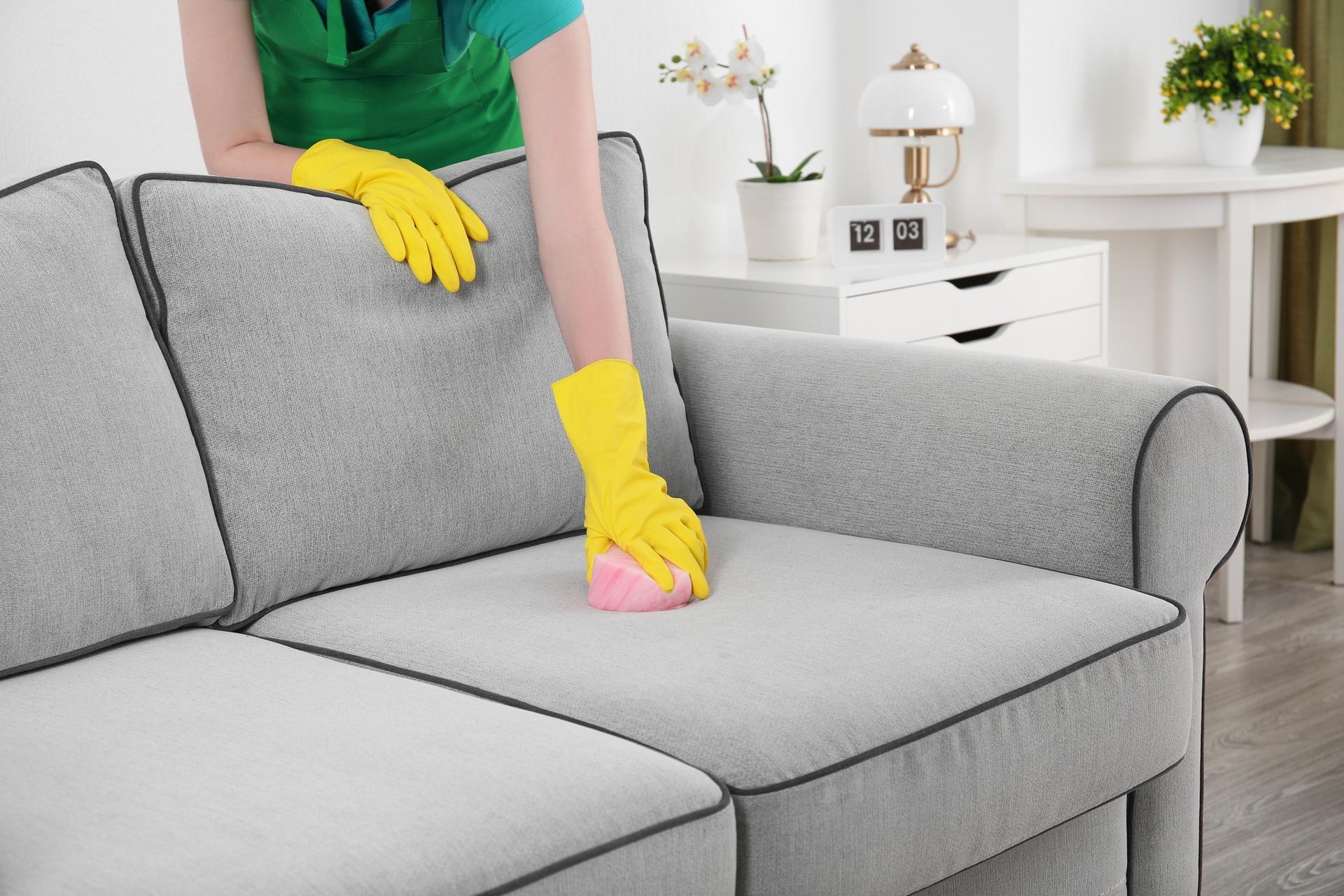 Домашняя химчистки мягкой мебели