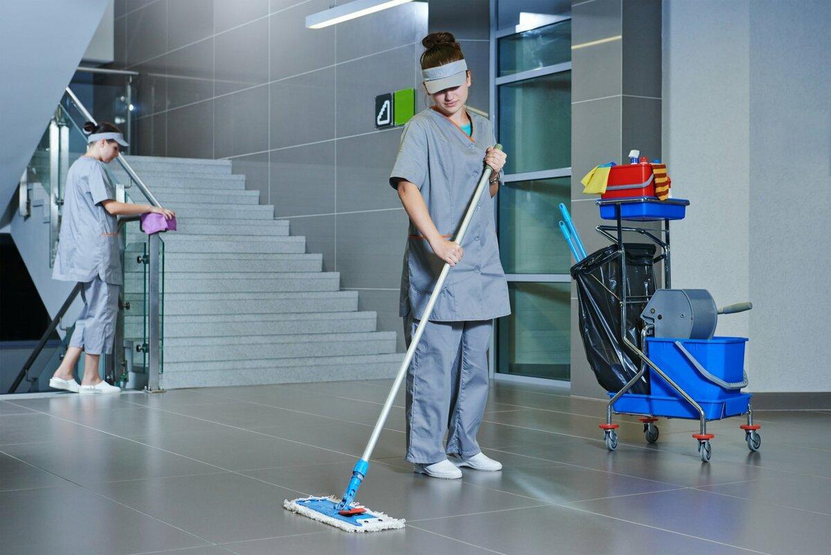 Санитарная уборка подъездов домов
