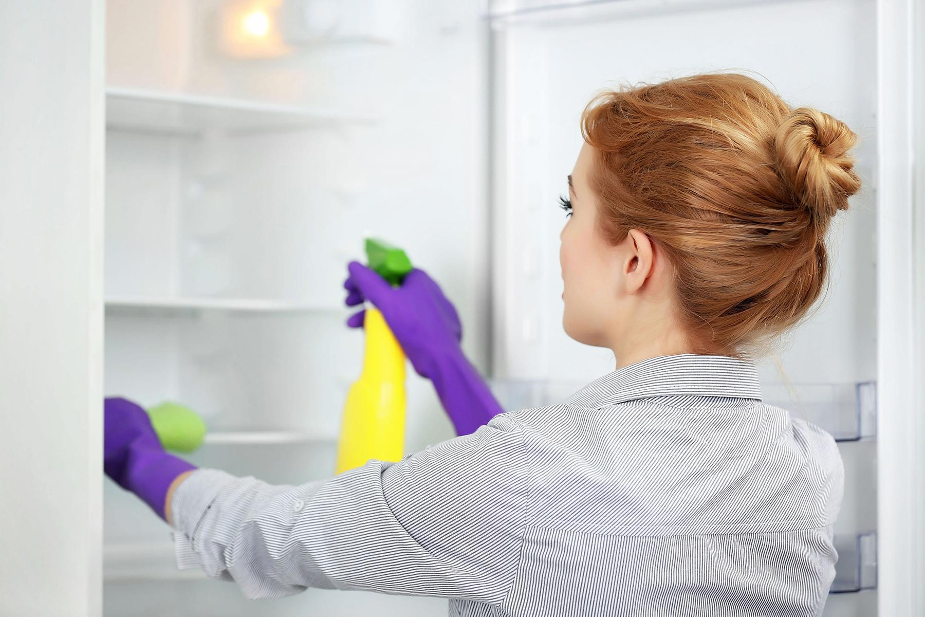 Чем помыть холодильник, чтобы убрать запах