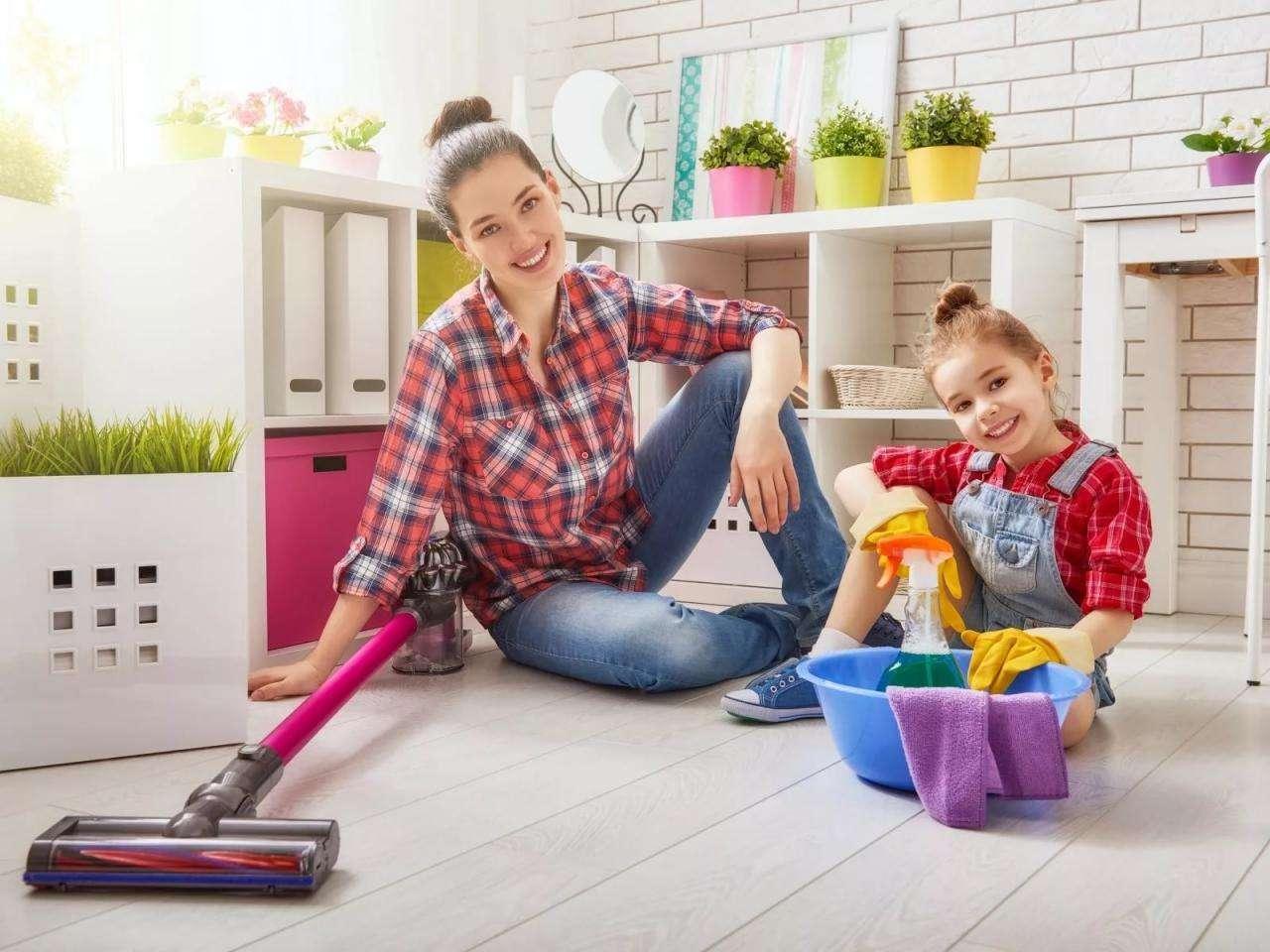 Последовательность уборки квартиры