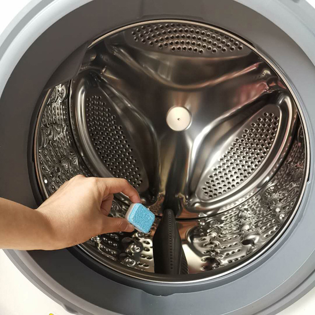 Как почистить стиральную машину от налета