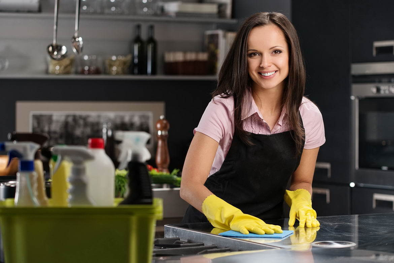Лайфхак для кухни при уборке