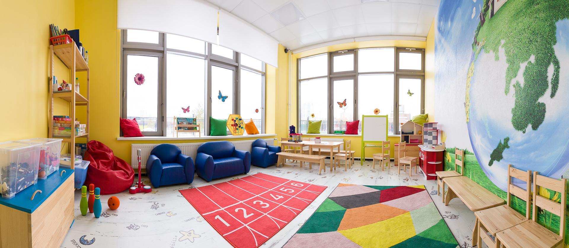 Уборка помещений в детском саду