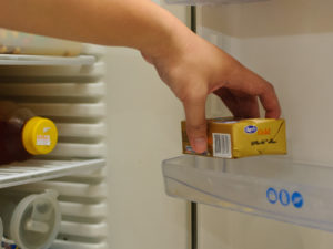 Хранение сливочного масла