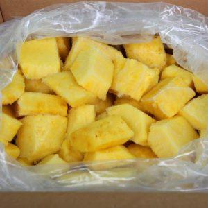 Заморозка ананаса